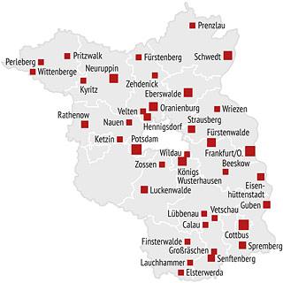 Geschäftsstelle des Städteforums Brandenburg